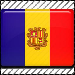 andorra, flag icon