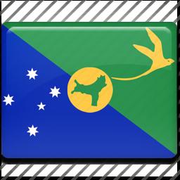 christmas, island icon