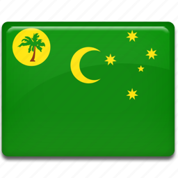 cocos, islands icon