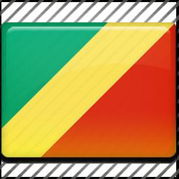 congo, flag icon