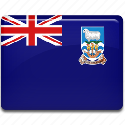 falkland, islands icon