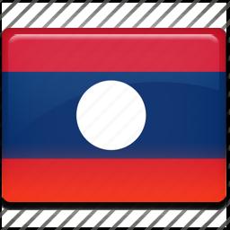 flag, laos icon