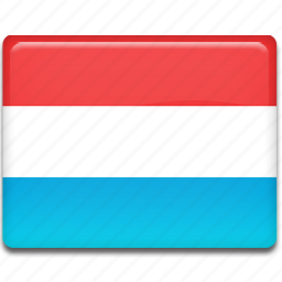 flag, luxembourg icon