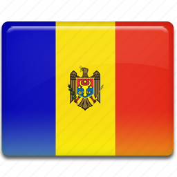 flag, moldova icon