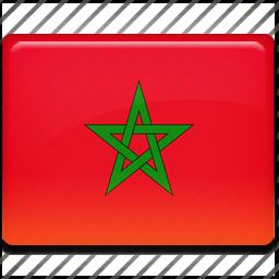 flag, morocco icon