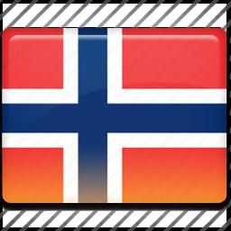 flag, norway icon