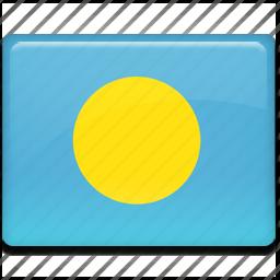 flag, palau icon