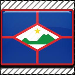 eustatius, flag, sint icon