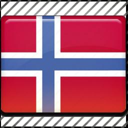 flag, svalbard icon