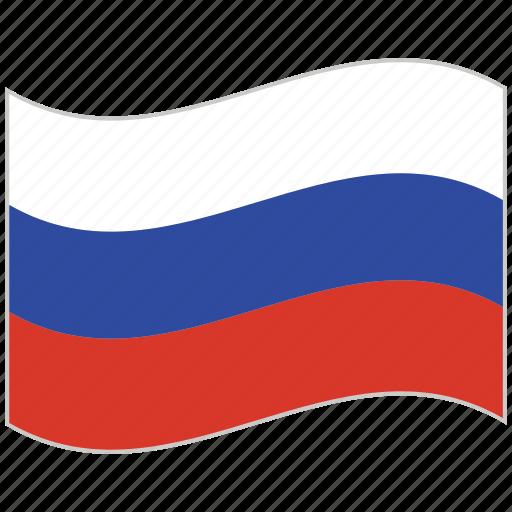 flag, national flag, russia, russia flag, waving flag, world flag icon