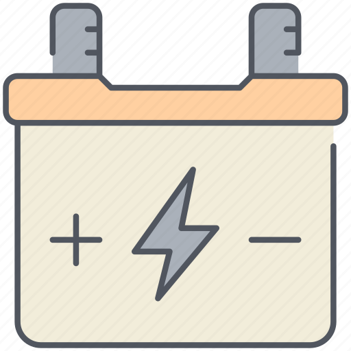 acumulation, acumulator, charging, electricity, energy, motor, power icon