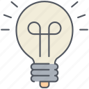 bulb, electricity, energy, lamp, light, lightbulb, power icon