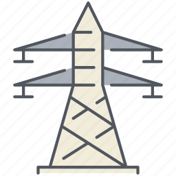 communication, electrical, electricity, electro, energy, tower, transmission icon