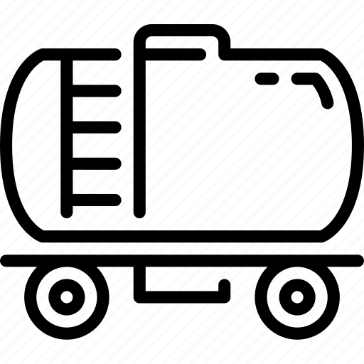 diesel, oil, tank, transportation icon