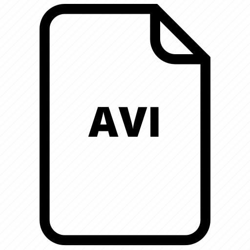 avi, file, files, type icon