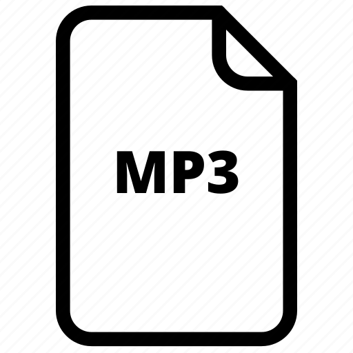 file, files, mp3, type icon