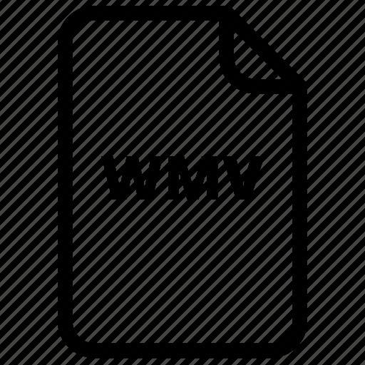 file, files, type, wmv, wmv icon icon