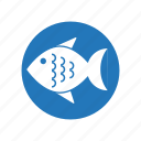 allergen, allergens, allergic, allergy, fish icon