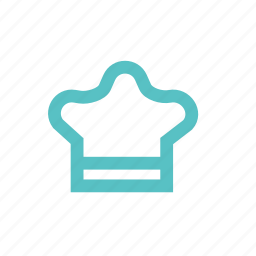 cap, chef, cook, culinary, kitchen icon