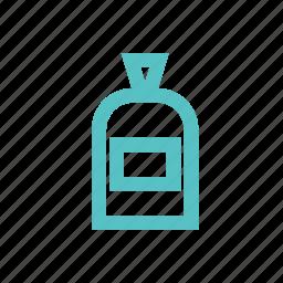 bottle, cologne, mixture, perfume, potion, vessel icon
