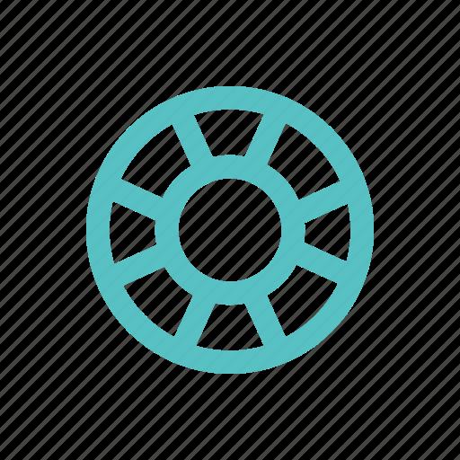 lifebuoy, rescuer, service, support, wheel icon