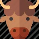yak, mammal, zoo, animal, wild, cow icon