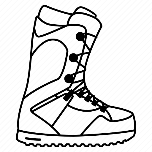 alpine, boots, equipment, hot, mountain, shoe, snow, snowboard, snowboarding, sports, summit, winter icon