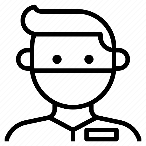 avatar, dentist, doctor, male, therapist icon