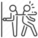 alzheimer, brain, disease, disorder, forgot, repeatedly icon