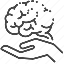 alzheimer, brain, care, disease, disorder, forgot, treatment icon