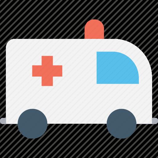 ambulance, emergency, emergency vehicle, patient transport, rescue icon