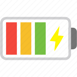 battery, charging, electric, energy, lead, level, power icon