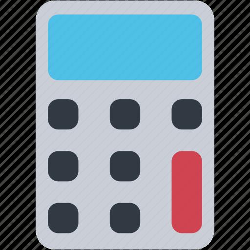 accounting, calculation, calculator, education, math, mathematics icon