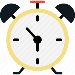alarm, bell, clock, ring, time, watch icon