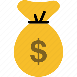 bag, bank, cash, currency, dollar, financial, money icon