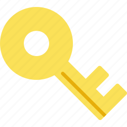 key, password, privacy, safety, security, unlock icon