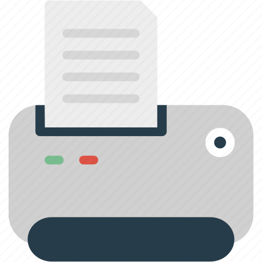 office, paper, print, printer, printing, scanner, sheet icon