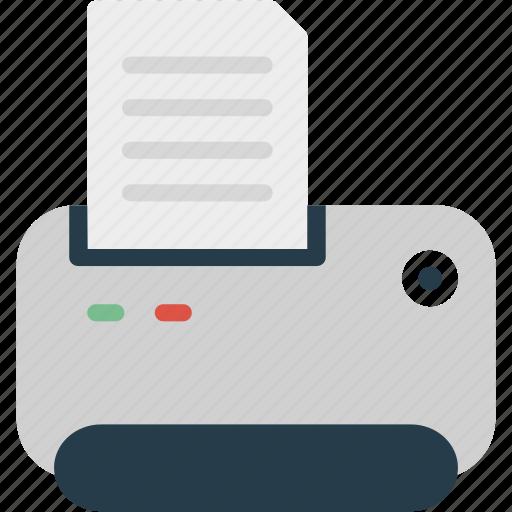 Printer, office, paper, print, printing, scanner, sheet icon - Download on Iconfinder