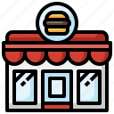 burger, shop, junk, food, buildings, fast