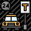 taxi, car, service, transport, vehicle