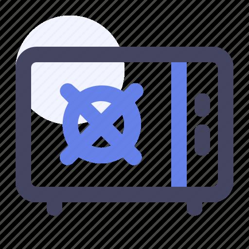 Bank, bank locker, cash box, cash safe, locker, money box, safety icon - Download on Iconfinder