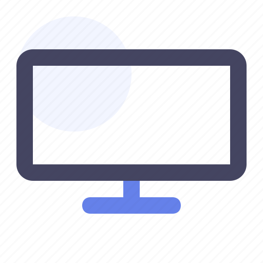 Flat screen, lcd, screen, television, tv icon - Download on Iconfinder