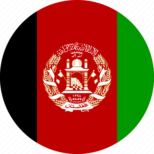 afghanistan, country, flag icon