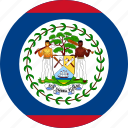 belize, country, flag icon