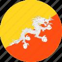 bhutan, country, flag