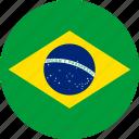 brazil, country, flag