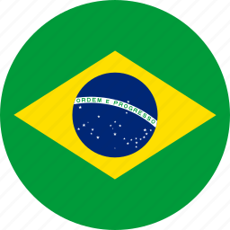 brazil, country, flag icon