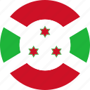 burundi, flag, national icon