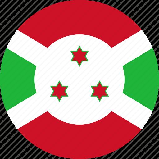 burundi, flag, national icon