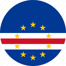 cape verde, flag icon